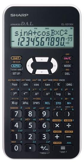 Student Calculator SHARP EL-531XHWH